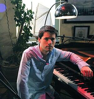 Sam Lakeman - Sam Lakeman on The Redcastle Session DVD shoot, 2008