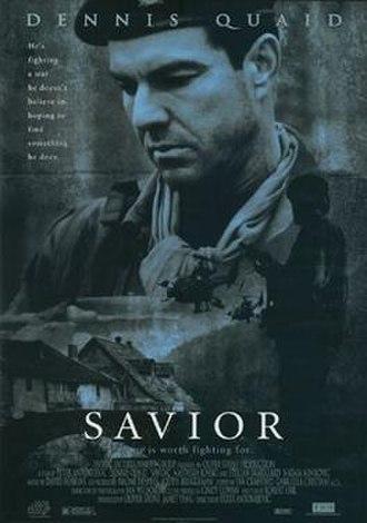 Savior (film) - Theatrical release poster