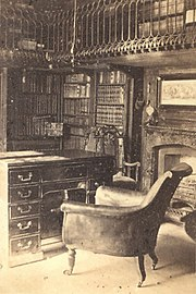 Sir Walter Scott's study at Abbotsford