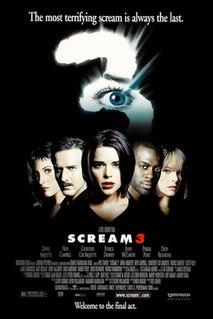 <i>Scream 3</i> 2000 American slasher film