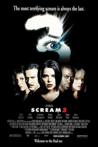 Scream 3 - Theatrical release poster