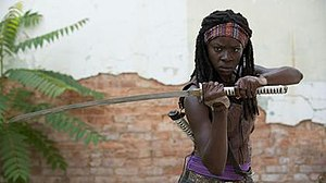 Danai Gurira - Danai Gurira as Michonne