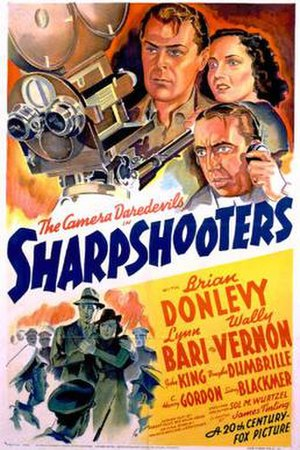 Sharpshooters (film) - Theatrical release poster