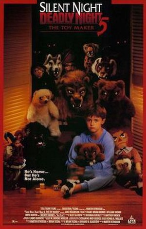 Silent Night, Deadly Night 5: The Toy Maker - Promotional poster