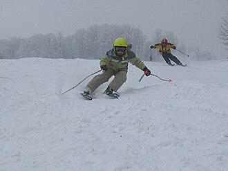 Bükk - Image: Ski race at Bánkút, Hungary (2006)