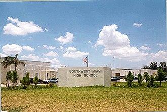 Southwest Miami High School - Image: Southwestfr