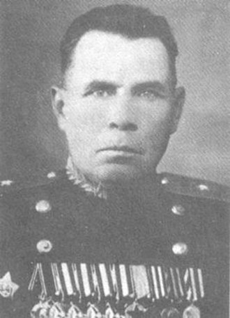 251st Rifle Division (Soviet Union) - Postwar photo of Major General A.A. Volkhin