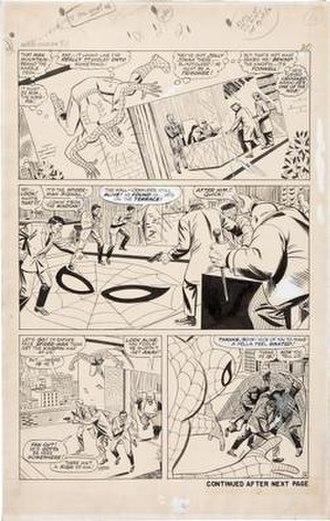 Mike Esposito (comics) - Image: Spider Man 51 Romita Esposito