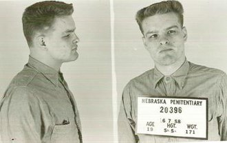 Charles Starkweather - Mug shots of Starkweather