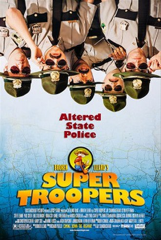 Super Troopers - Theatrical release poster