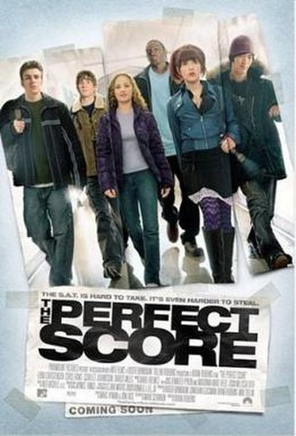 The Perfect Score - Theatrical release poster
