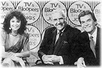 TV's Bloopers & Practical Jokes - Gail Edwards, Ed McMahon, and Dick Clark, host a 1980s episode of Bloopers