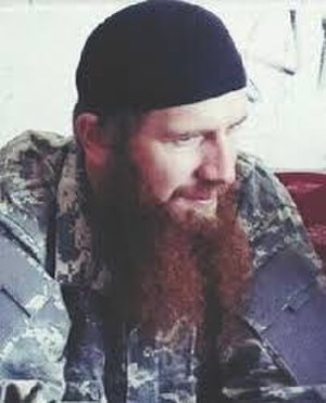 Abu Omar al-Shishani - Omar al-Shishani as seen during the Syrian Civil War