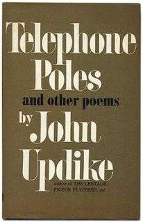 <i>Telephone Poles</i> book by John Updike