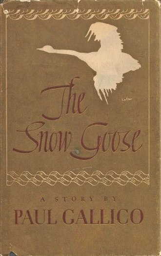 The Snow Goose: A Story of Dunkirk - First edition (publ. Knopf) Cover artist: George Salter