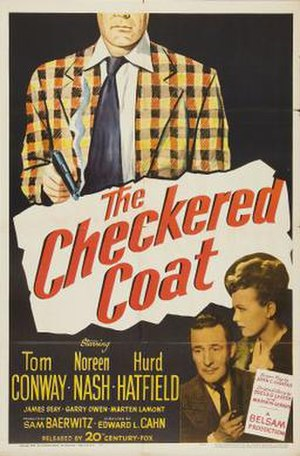The Checkered Coat - Theatrical release poster