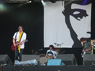 The Courteeners - The Courteeners performing at the OXEGEN '08 festival in Ireland