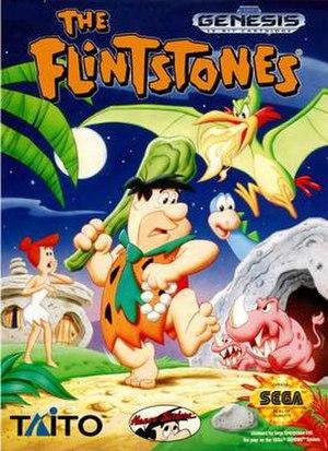 The Flintstones (1993 video game) - North American box art