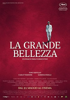 <i>The Great Beauty</i> 2013 film directed by Paolo Sorrentino