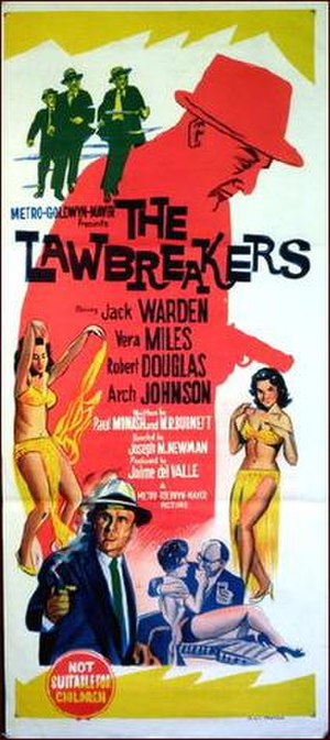The Lawbreakers - Theatrical release poster