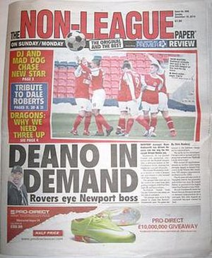 The Non-League Paper - Image: The Non League Paper cover