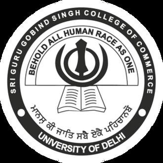 Sri Guru Gobind Singh College of Commerce - Image: The Official Seal of SGGSCC