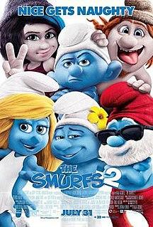 <i>The Smurfs 2</i> 2013 film by Raja Gosnell