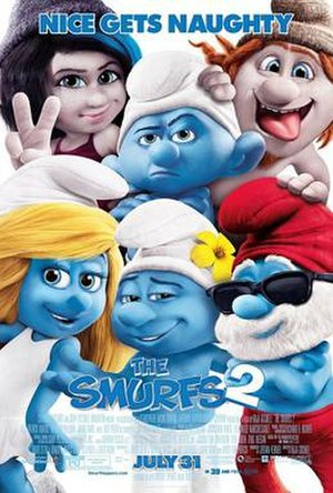 The Smurfs 2 - Theatrical release poster
