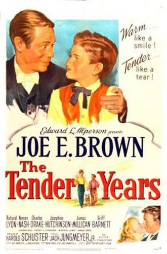 The Tender Years - Theatrical release poster