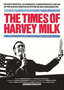 The Times of Harvey Milk film poster