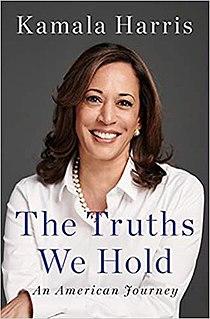 <i>The Truths We Hold</i> 2019 book by Kamala Harris