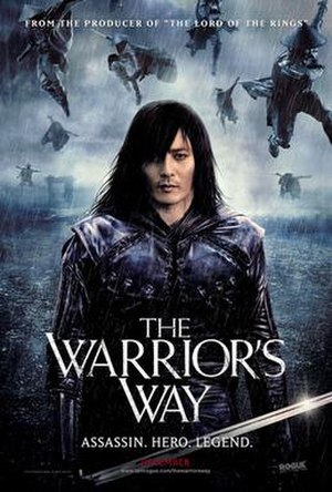 The Warrior's Way - Theatrical release poster