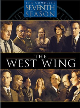 The West Wing (season 7) - Image: The West Wing season 7 DVD
