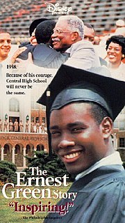 <i>The Ernest Green Story</i> 1993 television film directed by Eric Laneuville
