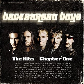 The Hits – Chapter One (Backstreet Boys album) - Image: Thehits chapter 1 bsb
