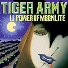 Tiger Army Band Shirt Girls Cat