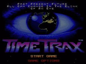 Time Trax - Image: Time Trax SNES Game Title Screen