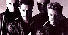 Tin machine (band) 1988 promo photo.jpg