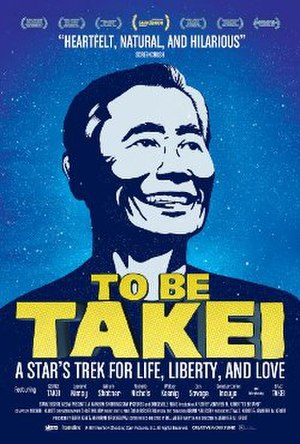 To Be Takei - Promotional poster