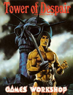<i>Tower of Despair</i> 1984 text adventure video game
