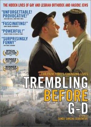 Trembling Before G-d - DVD cover