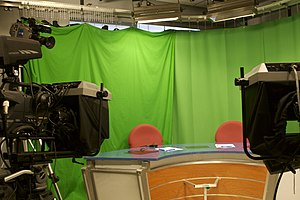UCTV (University of Connecticut) - UCTV's News and Sports set in the Student Union