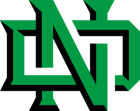 North Dakota Fighting Hawks Ice Hockey athletic logo