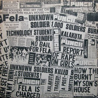 Unknown Soldier (Fela Kuti album) - Image: Unknown Soldier (Fela Kuti album)