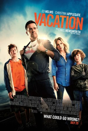 Vacation (2015 film) - Theatrical release poster