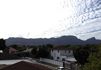 Plumstead, Cape Town - Image: View of Plumstead, Cape Town