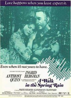 <i>A Walk in the Spring Rain</i> 1970 film by Guy Green
