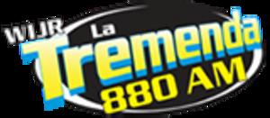 WIJR - Image: WIJR La Tremenda 880 logo