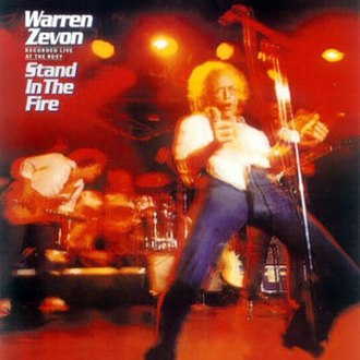 Stand in the Fire - Image: Warren Zevon Stand In The Fire