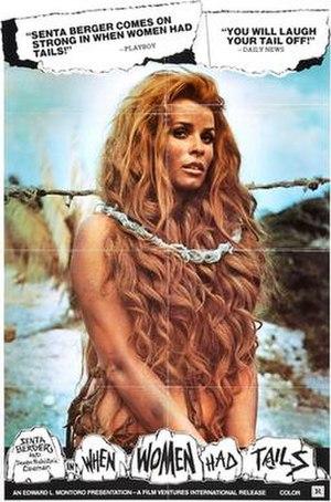 When Women Had Tails - Original film poster